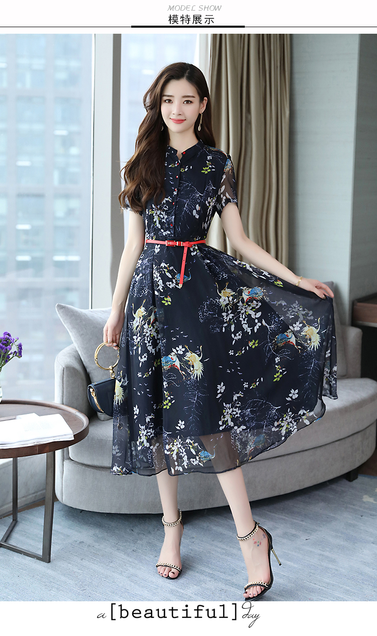 d6dfdf93cd88b US $15.44 29% OFF|Summer Vintage Chiffon Floral Dress Plus size Maxi  sundress Boho 2018 Elegant Women club Midi dresses Party Long Dress  Vestidos-in ...