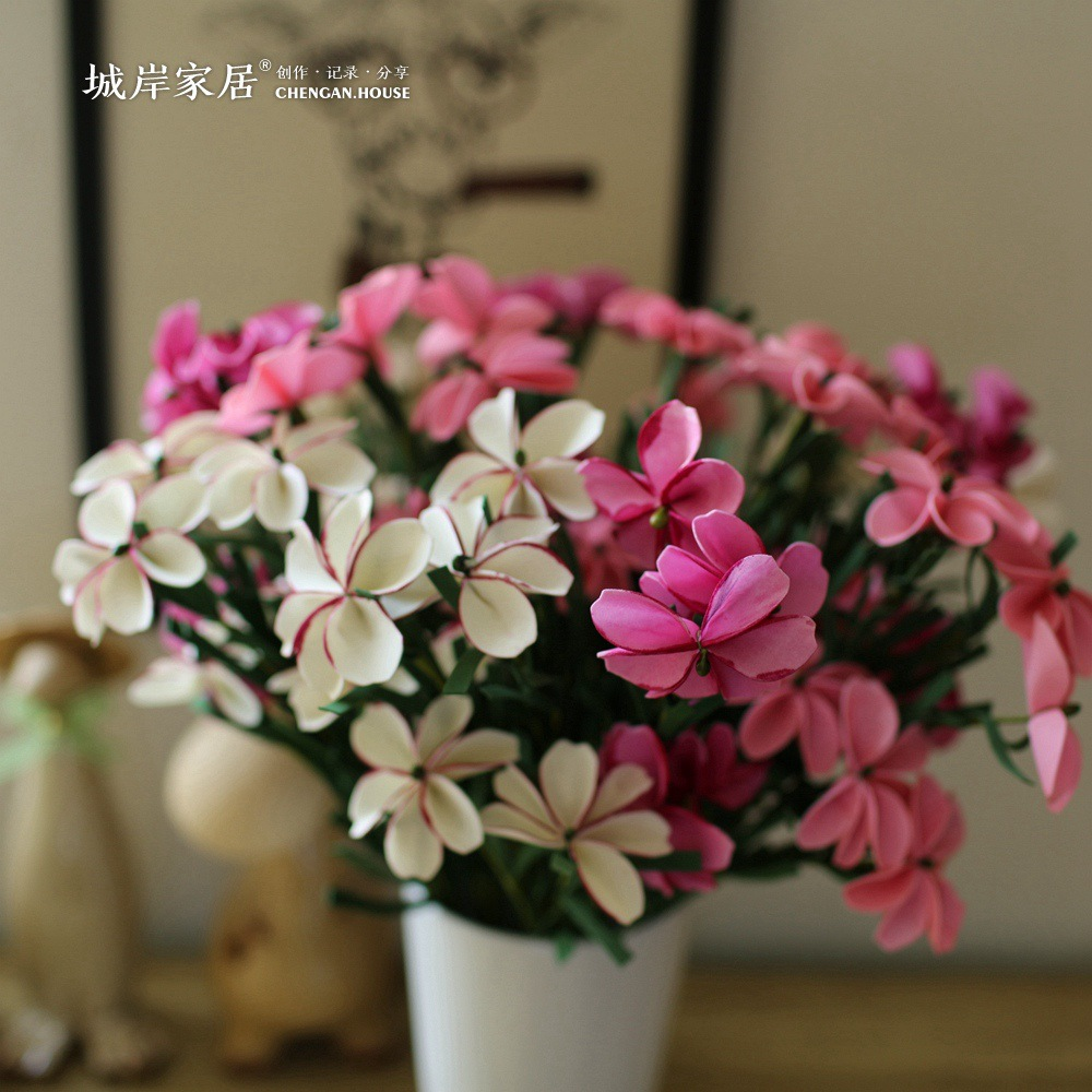 Compare prices on silk flower city online shoppingbuy low price city shore high grade simulation butterfly flower flowers plastic flowers home decoration decoration flower dhlflorist Gallery