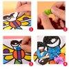 DIY Crafts Toys For Children Kindergarten Handicraft Material Felt Paper Cake Handwork Arts Kids Toy Gift discount