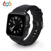 696 Z01 3G WCDMA Smart uhr Fitness schlaf Tracker Bluetooth Smartwatch Android system Push Nachricht WiFi SIM Kamera GPS telefon-in Smart Watches aus Verbraucherelektronik bei