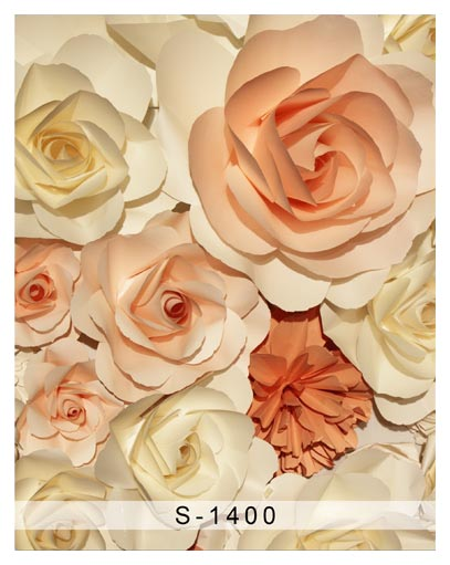 Beautiful paper flower photography backdrops  soft color vinyl photo backgrounds for babys photo studio background fotografia 600cm 300cm backgrounds garden beautiful sunshine photography backdrops photo lk 1566