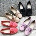 2015 Обувь Женщина Натуральная Кожа Женская Обувь Квартиры Мокасины Скольжения На женщин Квартиры Sapatilha Feminino Mocassim Zapatos Mujer