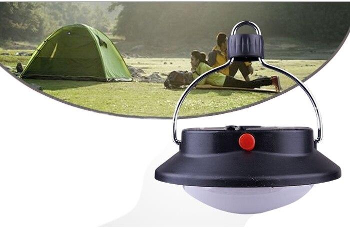 Huyizhi casa lanterna da campeggio in lega di alluminio per