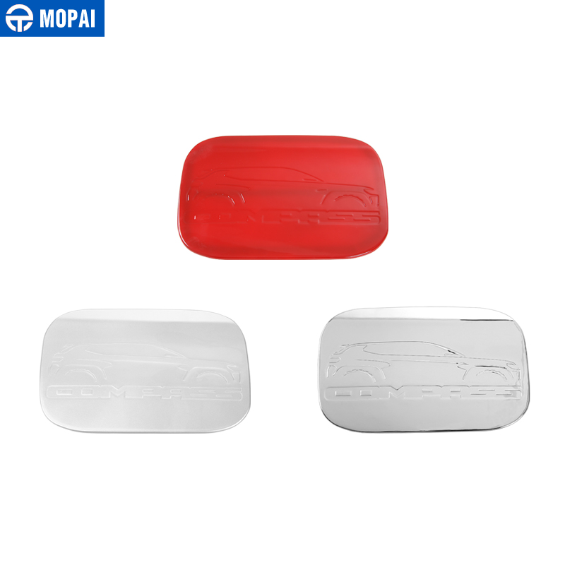 Image 5 - MOPAI ABS Car Exterior Oil Gas Fuel Tank Cap Cover Decoration Trim Stickers for Jeep Compass 2017 Up Car Accessories Styling-in Tank Covers from Automobiles & Motorcycles