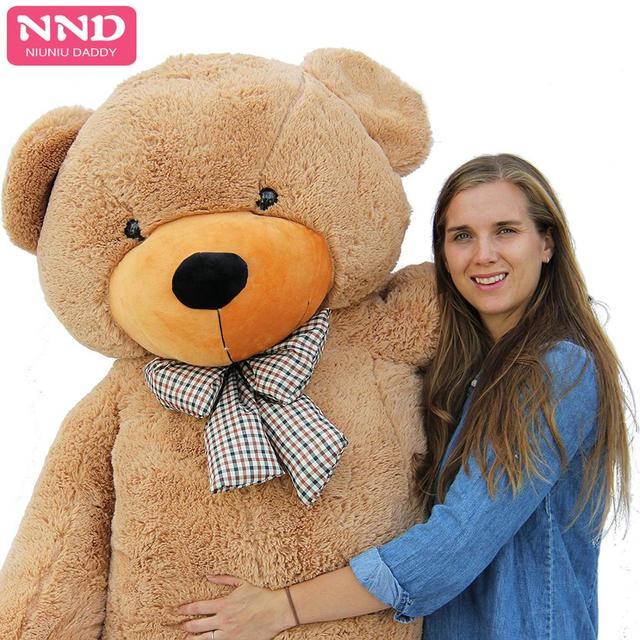 Niuniudad 200cm ours peaux jouet en peluche ours en peluche ours en peluche tissu en peluche jouet pour enfants et filles cadeaux danniversaire
