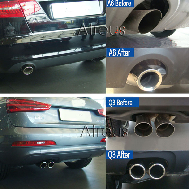 Atreus Car Stainless steel Exhaust Tip ler Pipe Cover For Audi ... on audi rs6 exhaust tips, cadillac sts exhaust tips, dodge ram exhaust tips, audi rs7 exhaust tips, hyundai genesis coupe exhaust tips, ford ranger exhaust tips, ford fusion exhaust tips, mazda 3 exhaust tips, range rover exhaust tips, vw touareg exhaust tips, mini cooper exhaust tips, honda civic exhaust tips, ford f350 exhaust tips, saab 9-3 exhaust tips, jeep cherokee exhaust tips, infiniti m37 exhaust tips, mercedes s class exhaust tips, ford explorer exhaust tips, vw passat exhaust tips, cadillac xlr exhaust tips,