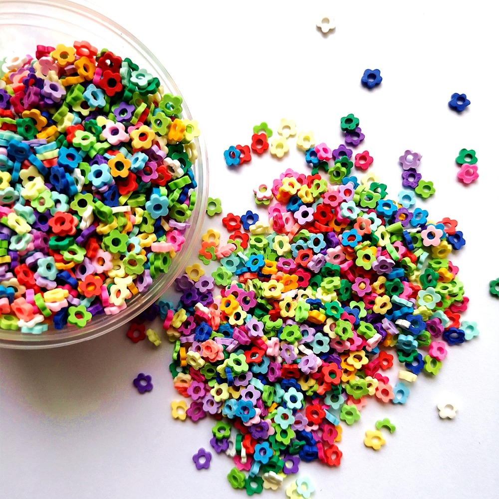 Slime charms 20g Fake Sprinkles Charms for Fluffy Slime Addition for Slime Supplies Plasticine Putty Toys Accessories 16