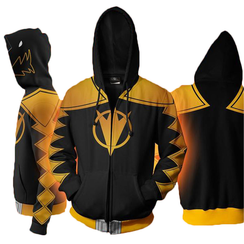 Cloudstyle Cosplay 3D Zip Up Hoodies Άνδρες Dino Charge 3D - Ανδρικός ρουχισμός - Φωτογραφία 4