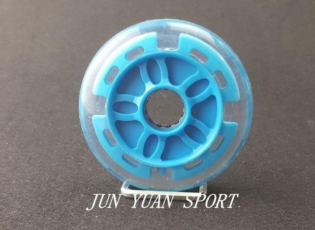 Haute qualité! 8 pièces/lot 90mm LED Flash roue de course de vitesse en ligne pour le brossage de la rue lumière fraîche, livraison gratuite