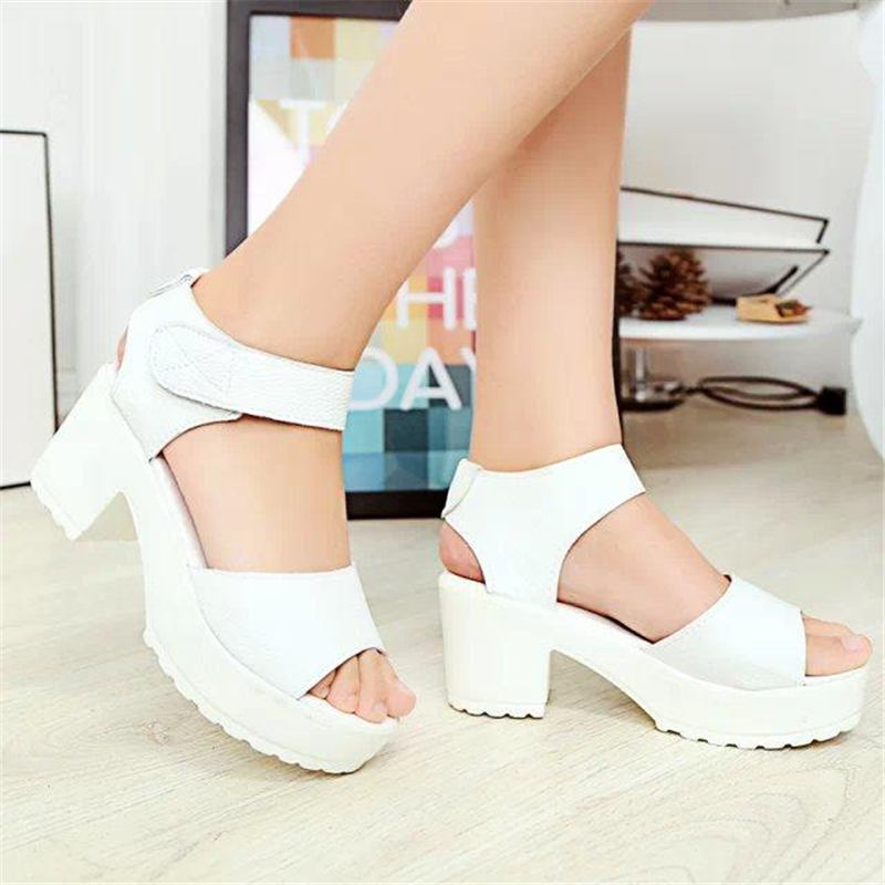 new spring summer slip on shoes for women 2017 ladies low heels sandals women embroidery shoes women black sandals floral shoes 2017 New summer high quality square heels soft leather shoes women sandals ladies white and black open toe ladies slippers