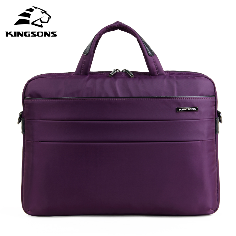 Kingsons Brand 14 inch Handbags Notebook Computer Laptop Bags for Ladies Shoulder Messenger Bag