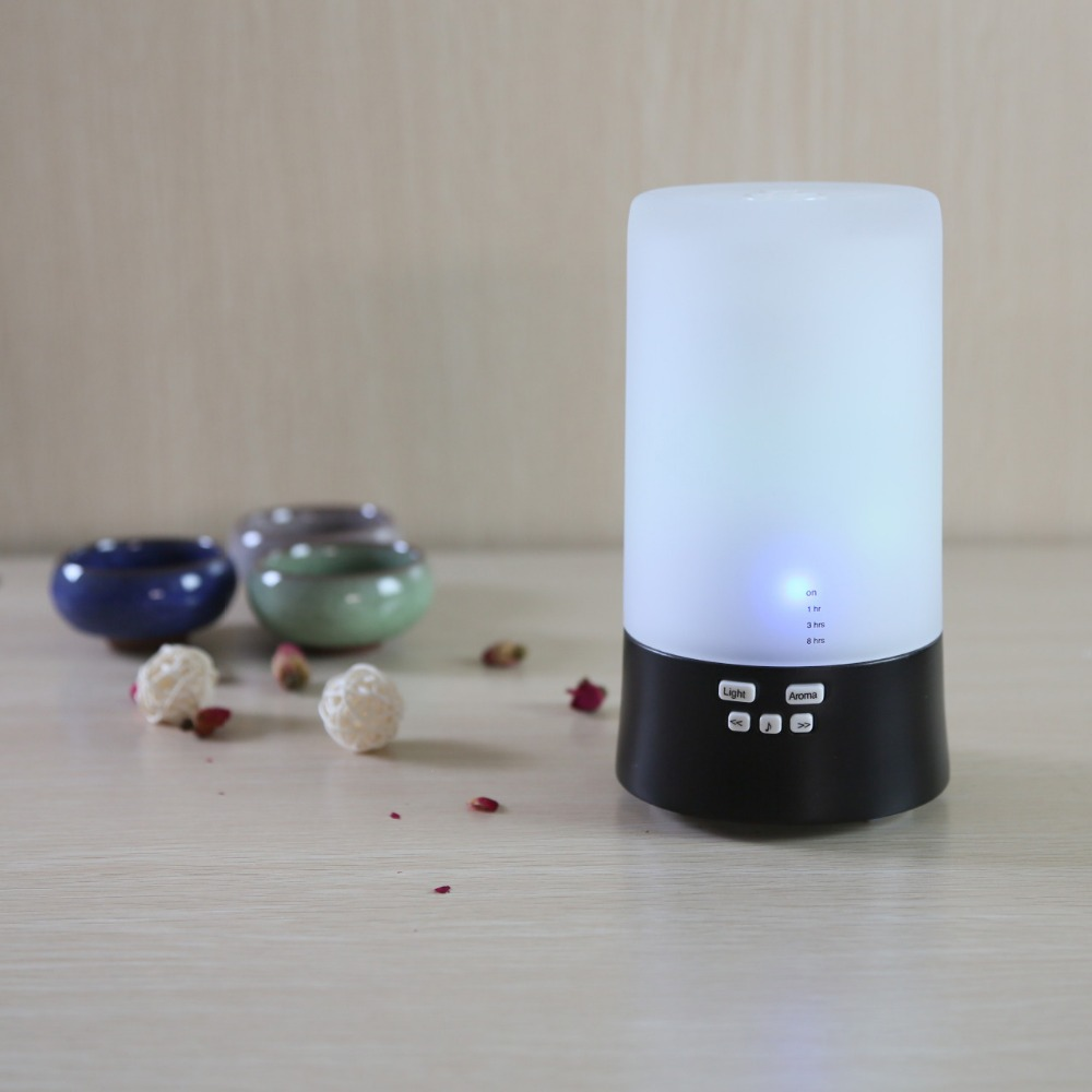 7 Colors Music LED light Aroma Diffuser Air Humidifier Ultrasonic Essential Oil Diffuser Aromatherapy Home Office Mist Maker thankshre 100ml humidifier 7 colors led light ultrasonic aroma essential oil diffuser air humidifier mist maker for home office