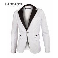2013 New Stylish Men S Blazer Casual Slim Fit One Button Pop Suit Blazer Coat Jacket