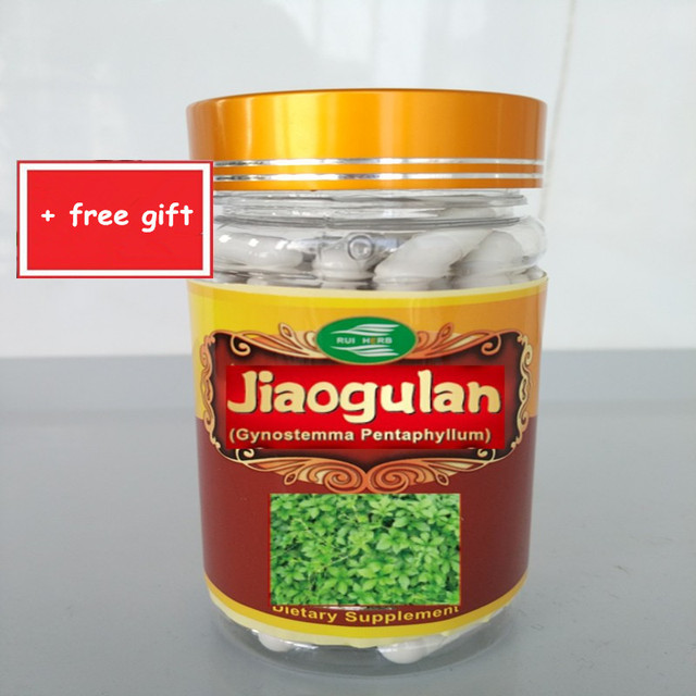 1Bottle Jiaogulan (Gynostemma) 20:1 Capsule 500mg x 90pcs free shipping