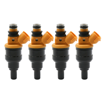 4PC Fuel Injector Nozzle 2325002020 2320902020 For Toyota Avensis 23250-02020 23209-02020 0280150438
