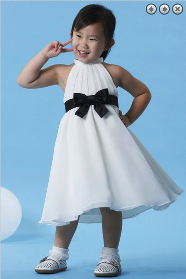 free shipping white   dress     flower     girl     dresses   for weddings 2016 party communion high fashion kids pageant   dresses   for   girls