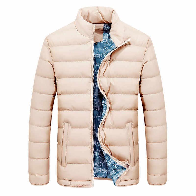 Nueva chaqueta para hombre 2019 Otoño Invierno diseño fresco Hip Hop Outwear marca ropa Moda hombre sólido rompevientos chaquetas para hombre M-6XL