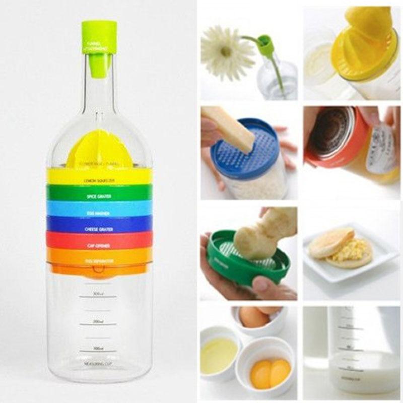 8 In 1 Kitchen Accessories Tool Gadget Goods Vegetable Fruit Cutter Knife Peeler Lemon