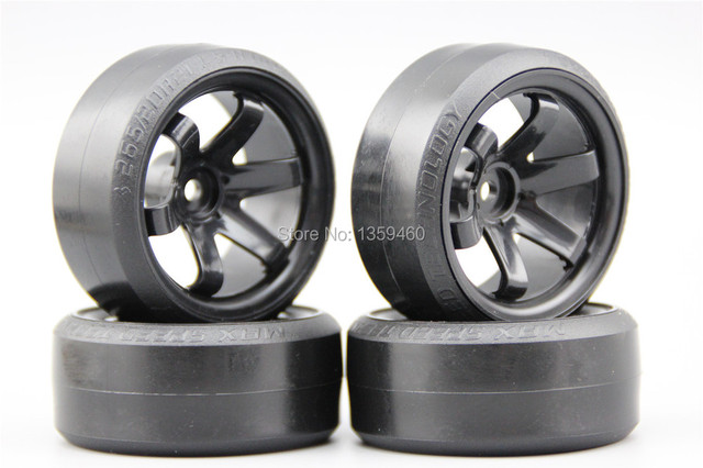 Pre Glued 4pcs Rc Cs R Drift Tires Tyre Wheel W6snk 9mm Offset