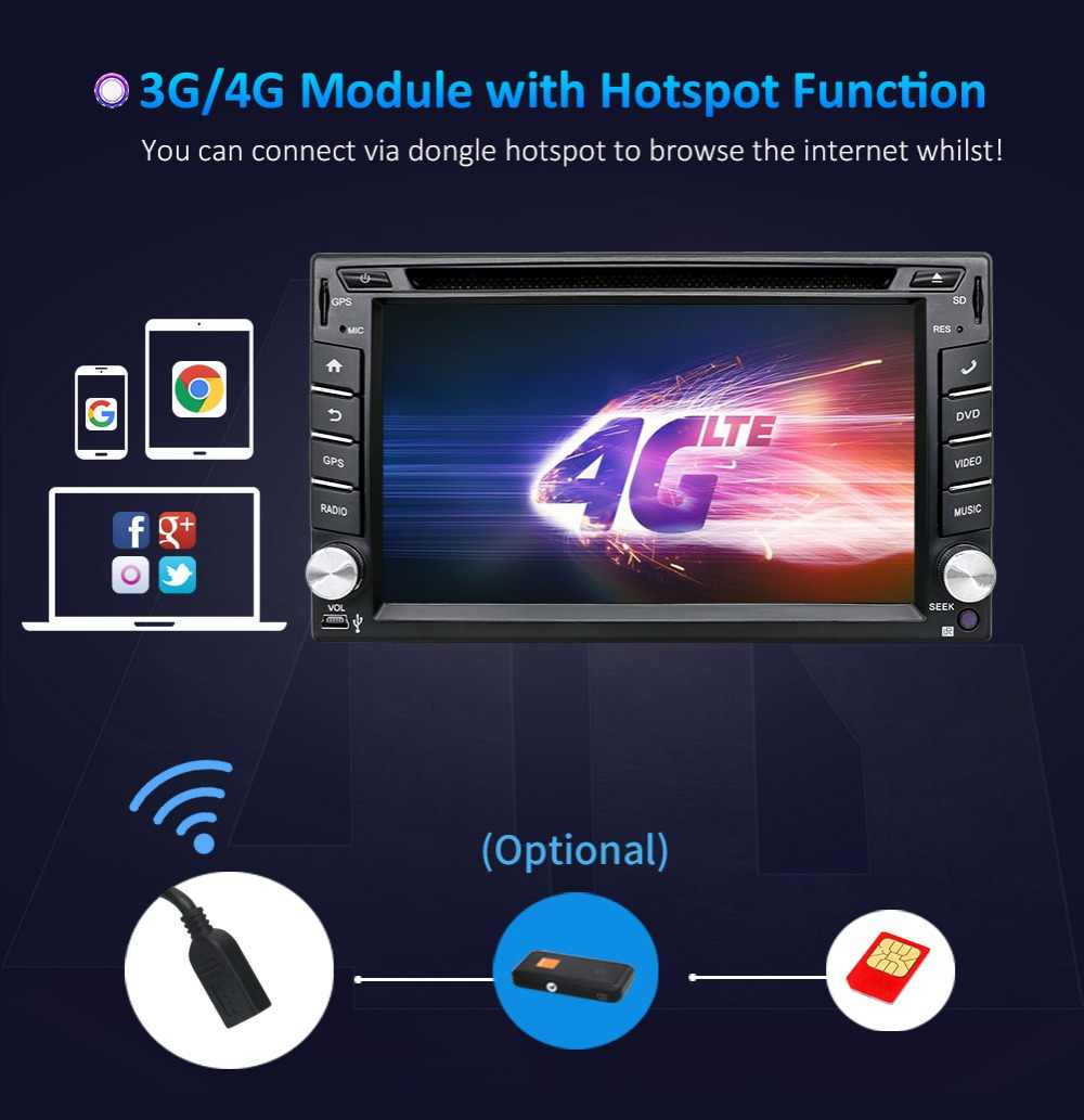 2 Din Android dört çekirdekli araç dvd oynatıcı Fit NISSAN QASHQAI Tiida evrensel araba radyo GPS BT WIFI ile 4G/3G RDS direksiyon kamera