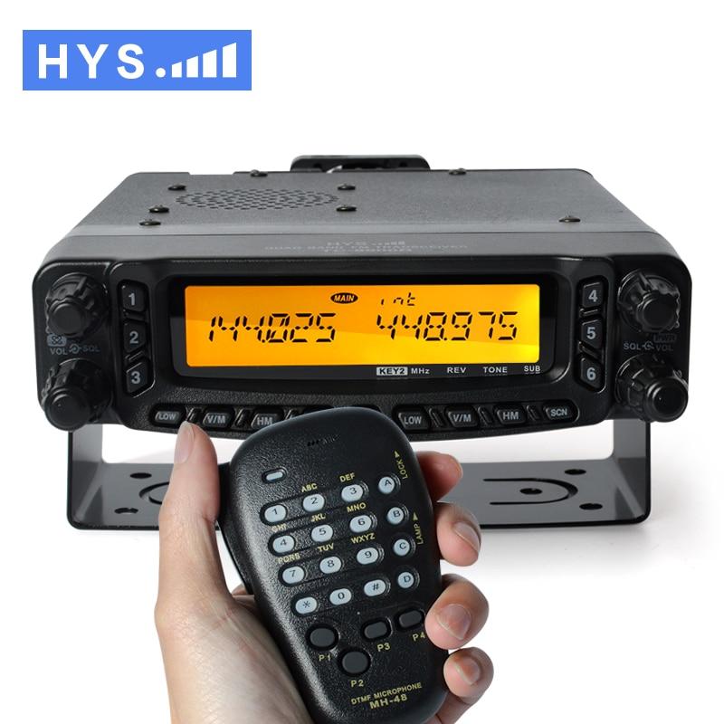 Free Shipping Powerful 27 50 144 430Mhz Quad Band VHF UHF Mobile CB Radio