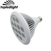 12 Watt E27 PAR 38 Scheinwerfer Led-lampe Licht Königsblau + Cool White + + UV AC110-220V Für Aquarium/Tank/Zeigen Zimmer/Bühne