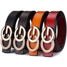 32cea0dadad Luxury Narrow Double G Designer Belts Lady High Quality Women Girl Genuine  Real Leather GG Buckle