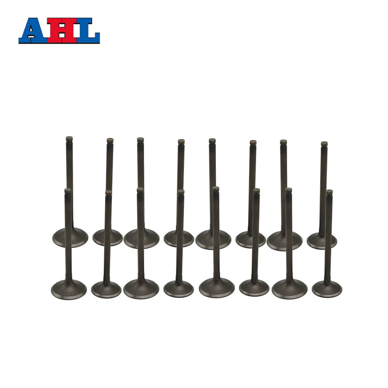 8Pairs Motorcycle Engine Parts Intake Exhaust Valve Kit With Valve seals For YAMAHA FZ400 4YR 1997