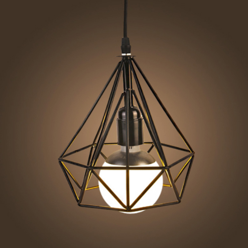 Fancy Retro Hanging Lights Vintage LED Pendant Lamp Art Decorative AC110/220V Iron Light Fixture Dining Room Lounge Bar Dynasty american art creative retro vintage pendant lights spring iron hanging pendant lamp indoor iron black pendant lamp light