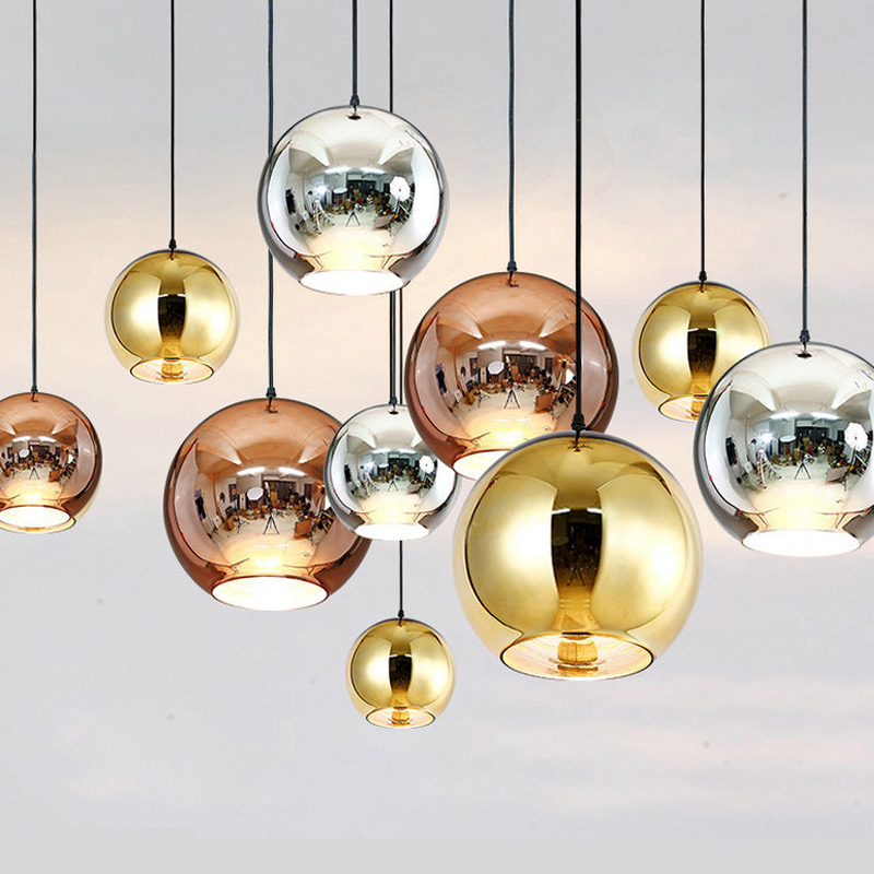 Us 12 31 10 Off Clear Glass Ball Living Room Chandeliers Light 15cm Hanging Pendant Lamp Chandelier E27 Art Deco Bubble Lamp Shades Modern In