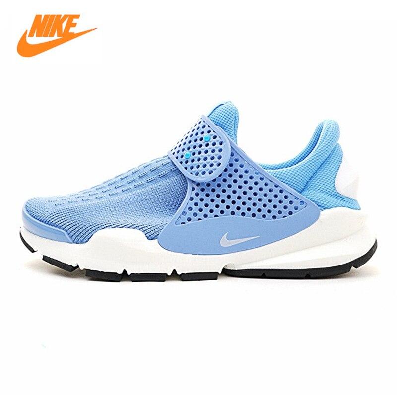 Nike SOCK Dart Для мужчин кроссовки, открытый кроссовки обувь, синий, легкий дышащий материал нескользящая подошва-стойких 848475 402