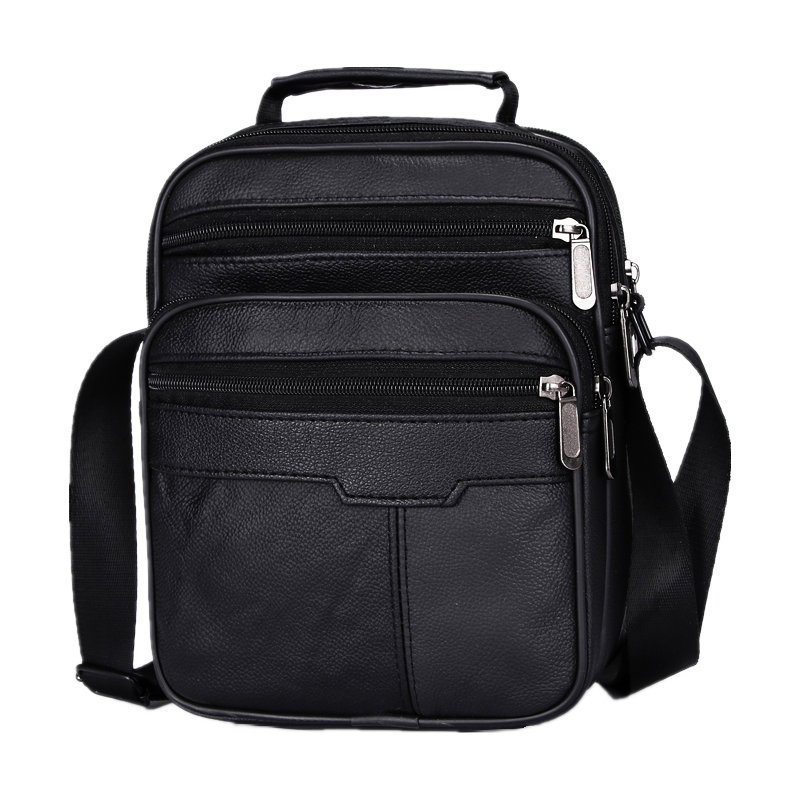 Bolsos de viaje de los hombres de marca de diseñador casual, bolsa de mensajero de los hombres, cuero genuino maletín masculino bolso de negocios bolsa de hombres