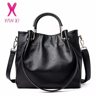 YANXI New Luxury Crossbody Shoulderbag Fashion PU Leather High Quality Retro Messenger Ladies Bags Handbags Women
