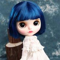 Цена по прейскуранту завода 30 см кукла blyth BJD может настроить волосы DIY шарнир тела кукла может изменить макияж и платье 1/6 12 дюймов шарнирные