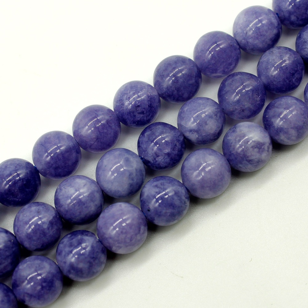 6.8.10.mm Smooth Round  Jades Stone Spacer Loose Bead 15″ For Necklace Bracelet DIY Jewelry Making