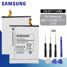 SAMSUNG Tablet Battery EB-BT111ABE/ EB-BT115ABE/C For Samsung SM-T110 SM-T111 T115 3600mAh Replacement Original