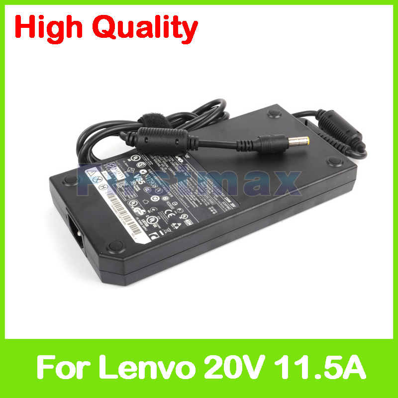 Slim 20V 11.5A 230W laptop ac power adapter charger for Lenovo ThinkPad W700 W701 W710 45N0060 45N0061 45N0062 45N0063