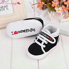 Toddler Newborn Shoes Soft Sole Canvas Sneaker