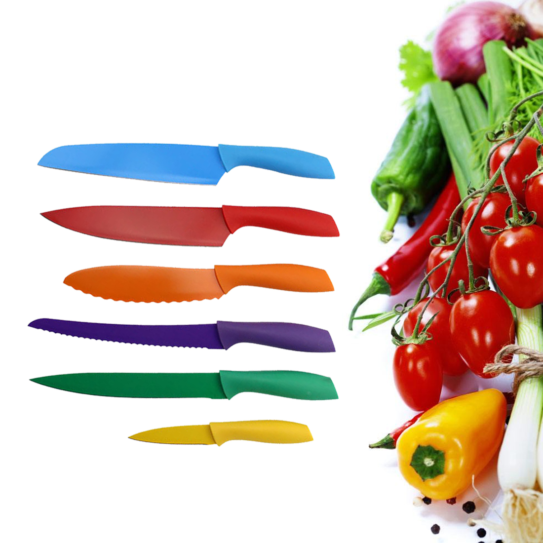 Online Get Cheap Rainbow Kitchen Knives -Aliexpress.com | Alibaba ...