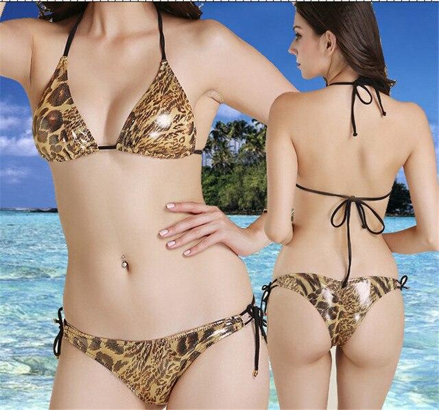 02a706fa3b0 Sexy girl crazy snake top bikini,scrunch bikini,biquini micro bikini  swimwear,door