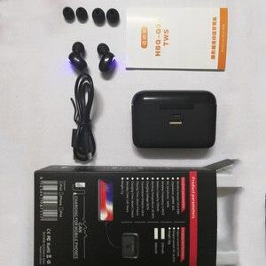 Image 5 - אלחוטי Bluetooth אוזניות q32s מעודכן גרסת אוזניות אלחוטי אוזניות TWS ספורט Bluetooth 5.0 סטריאו אוזניות עם מתנה