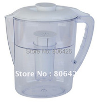 2.5L Alkaline Water Pitcher Solution/portable water filter/water softener with refreshable filter cartridge (QY-WP011)