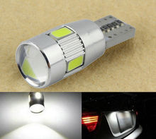2 X T10 194 W5W 5630 LED 6 SMD Canbus ERROR FREE Car Side Wedge Light Bulb Car Accessories patriot pa 445 t10 x treme
