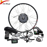 Electric Bike Conversion Kit 48V 1000W Rear Motor Wheel LG Samsung 26''700c velo Electric Motor Ebike E bike bicicleta eletrica