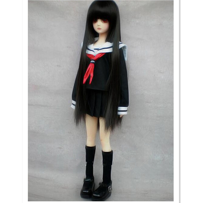 BEIOUFENG 1/3 1/4 1/6 SD BJD Doll Clothes Include Shirts,Skirt and Tie,Fashion School Uniform BJD Clothes for Dolls Accessories 1