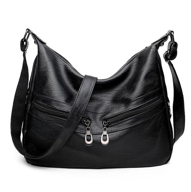 Women Retro Soft PU Leather...