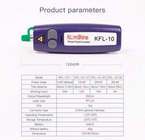 Image 2 - จัดส่งฟรี 10 mW มือถือ Visual Fault Locator/VFL/เส้นใย Break Checker,ปากกาเส้นใย cheaker สามารถทดสอบ 12KM