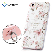 High Quality 3D Relief Print Soft TPU Back Cover Case For Huawei GR3 Enjoys 5s 5