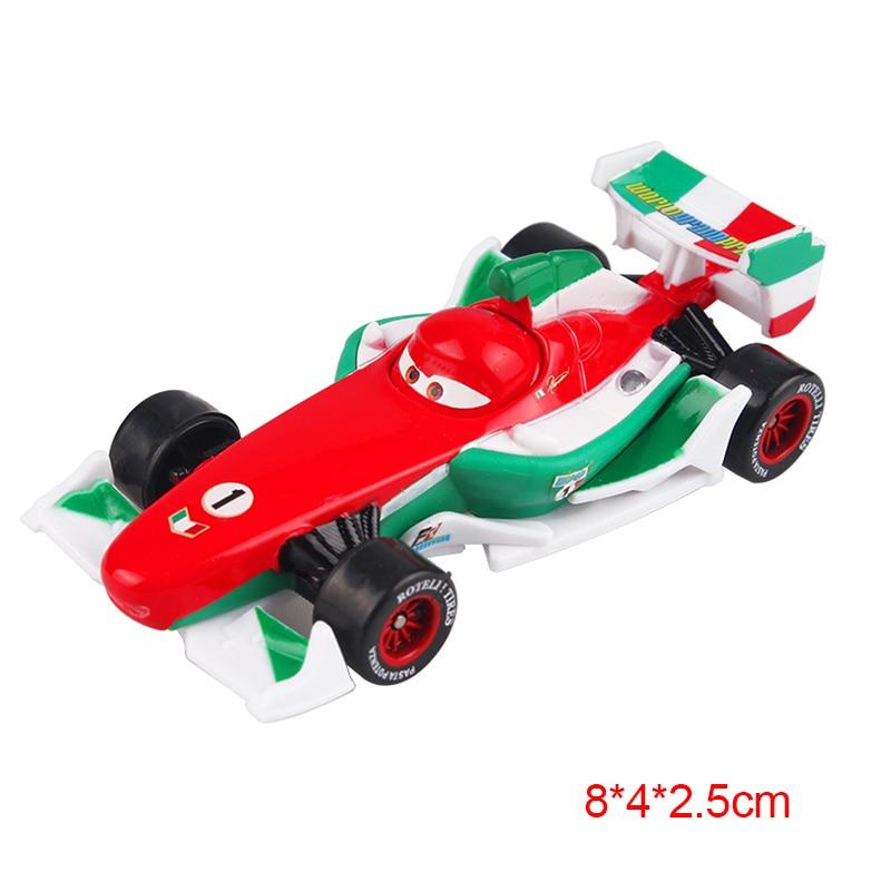 Дисней Pixar Тачки 2 3 Молния Маккуин матер Джексон шторм Рамирез 1:55 литье под давлением автомобиль металлический сплав мальчик малыш игрушки Рождественский подарок - Цвет: Francesco