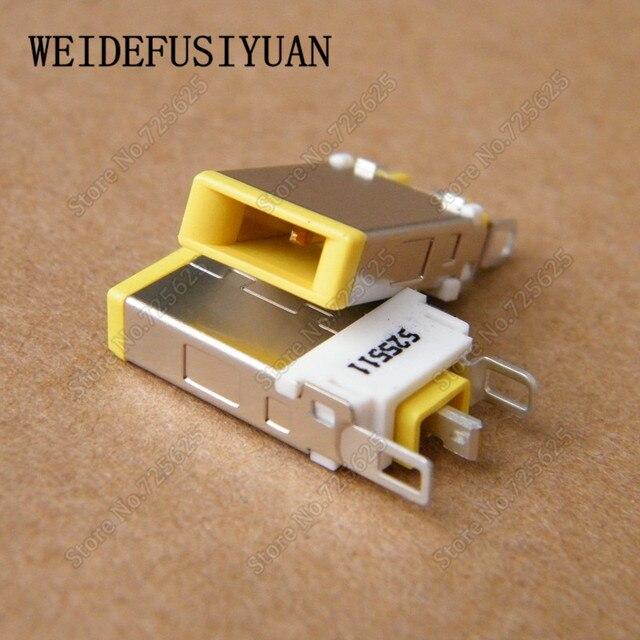 10 sztuk DC gniazdo zasilania łącze typu jack dla Lenovo ThinkPad IdeaPad Port ładowania wtyk męski